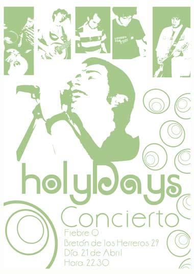 Concierto Holy Days