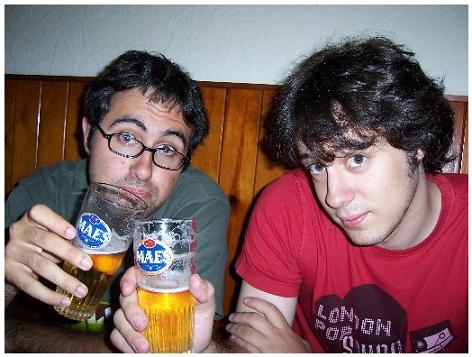 Una cerveza y un poco de Charla.
