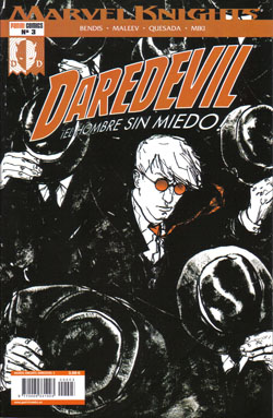 Daredevil de Bendis y Fratellis con su Costello music