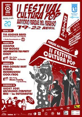 II Festival de cultura POP.