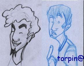 Protagonistas de mi comic.