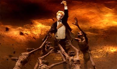 Constantine juega al quidditch