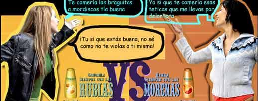 """Rubias Vs Morenas"" & ""Morenas Vs Rubias"""